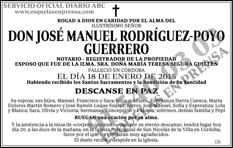 José Manuel Rodríguez-Poyo Guerrero